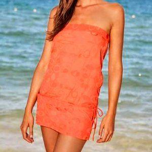 HP* United Wear Lines Hip-Up orange cover-up/dress